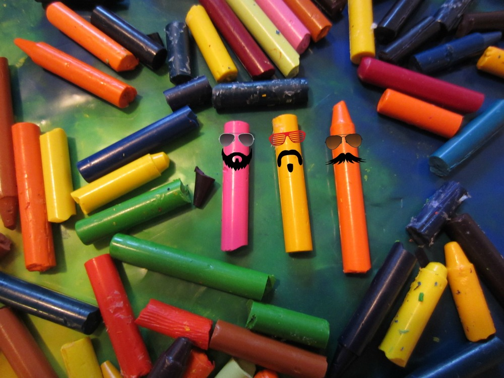 Valentine's Day Crayons (Recycled Crayon Hearts)  (3/6)