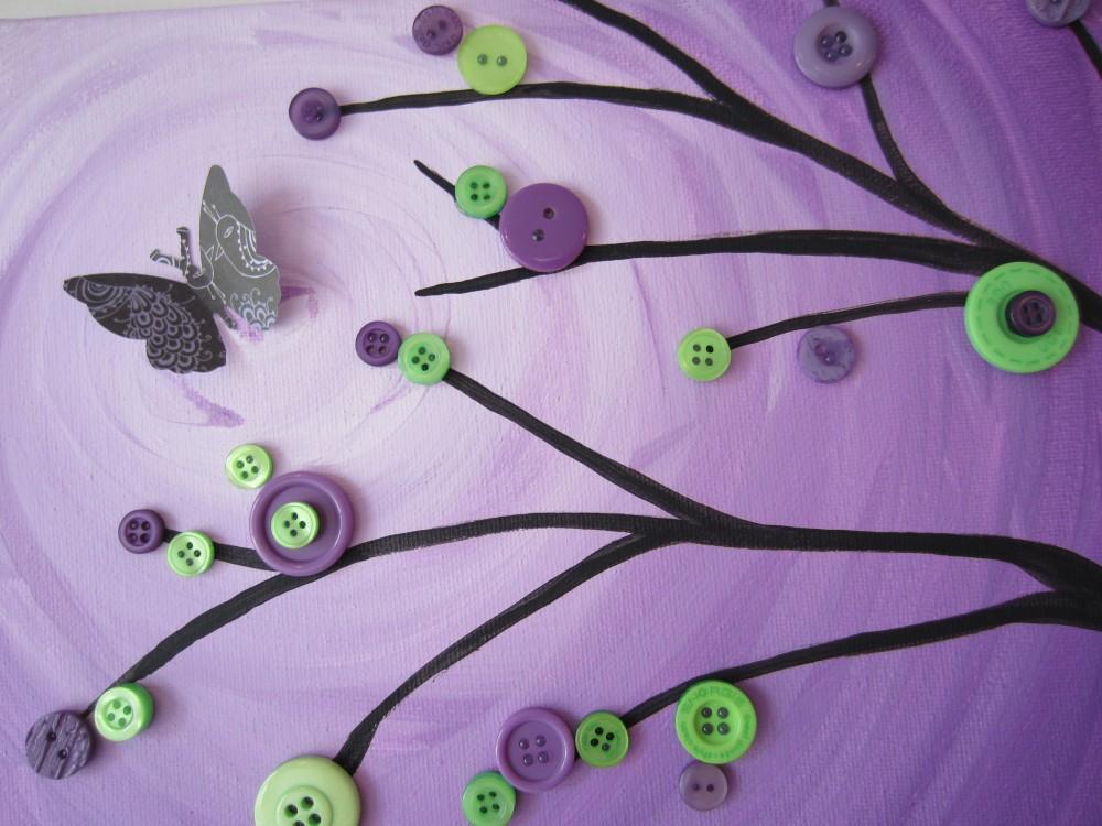 Blending Tutorial (Butterflied Button Branch) (1/6)