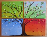 The four seasons in a square!