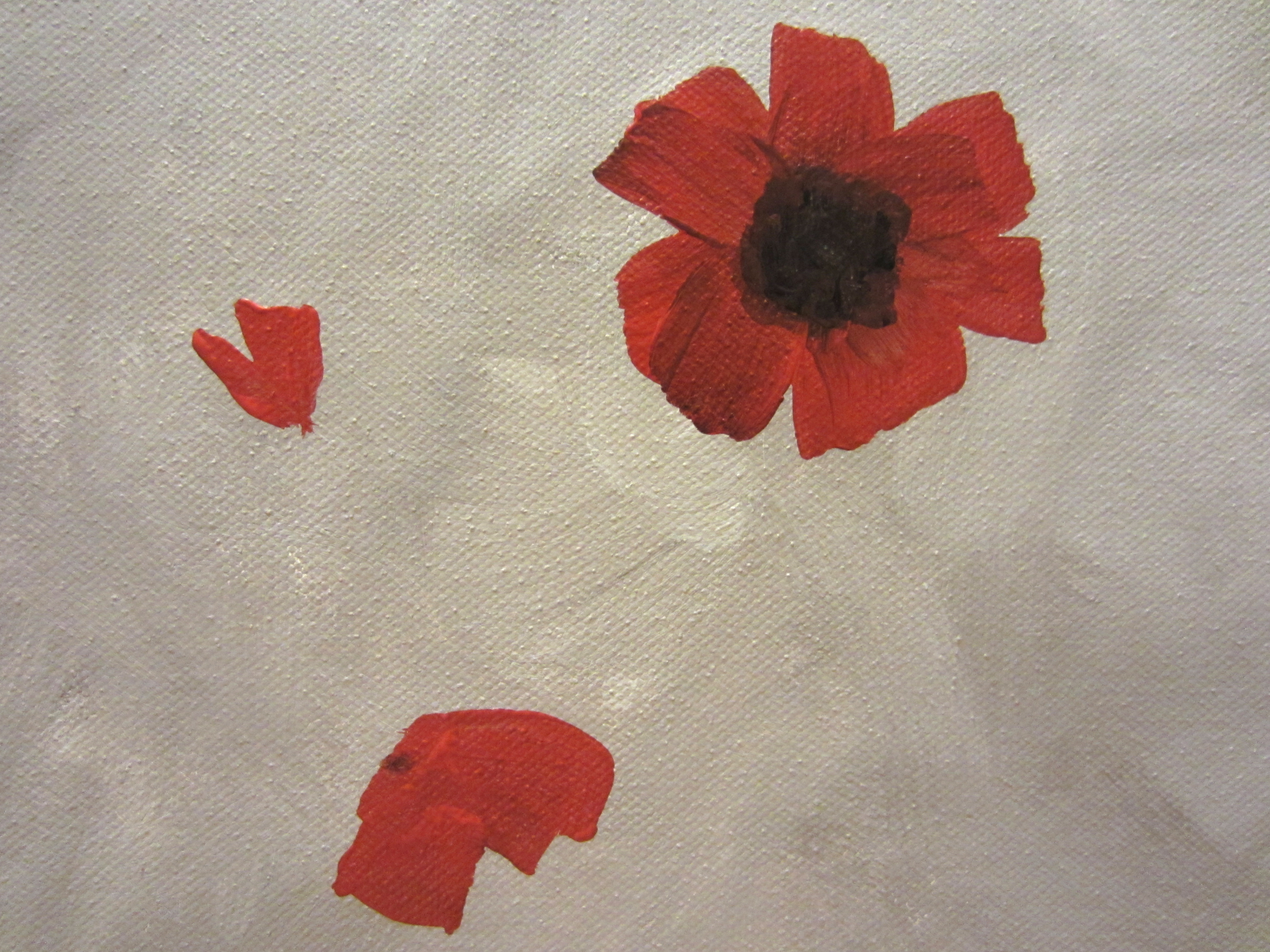 How To Paint Poppies Part Two The Flowers Busted Button