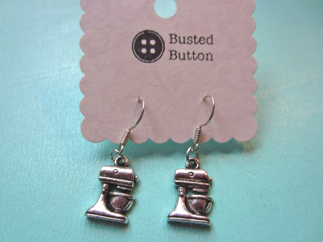 stand mixer earrings
