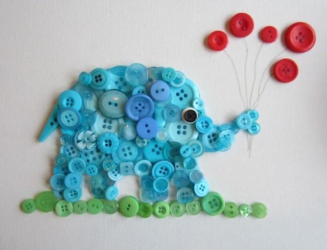 Button Elephant - www.bustedbutton.com
