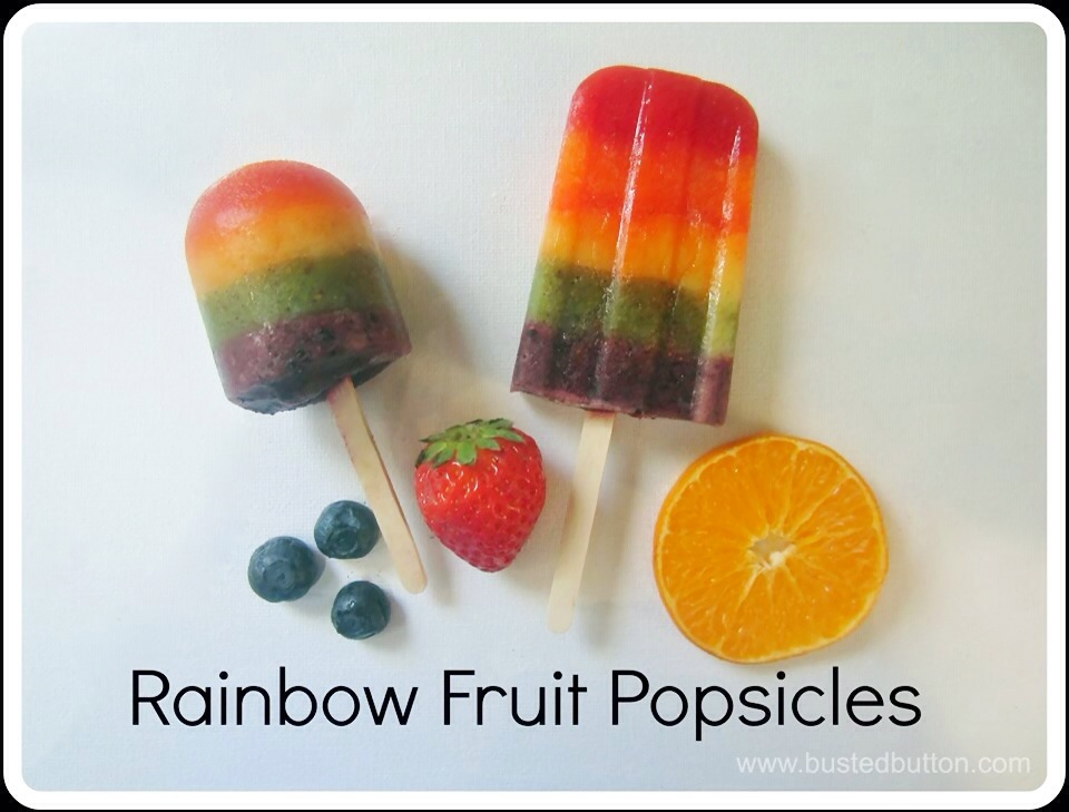 Rainbow Fruit Popsicles and Other Frozen Delights (1/4)