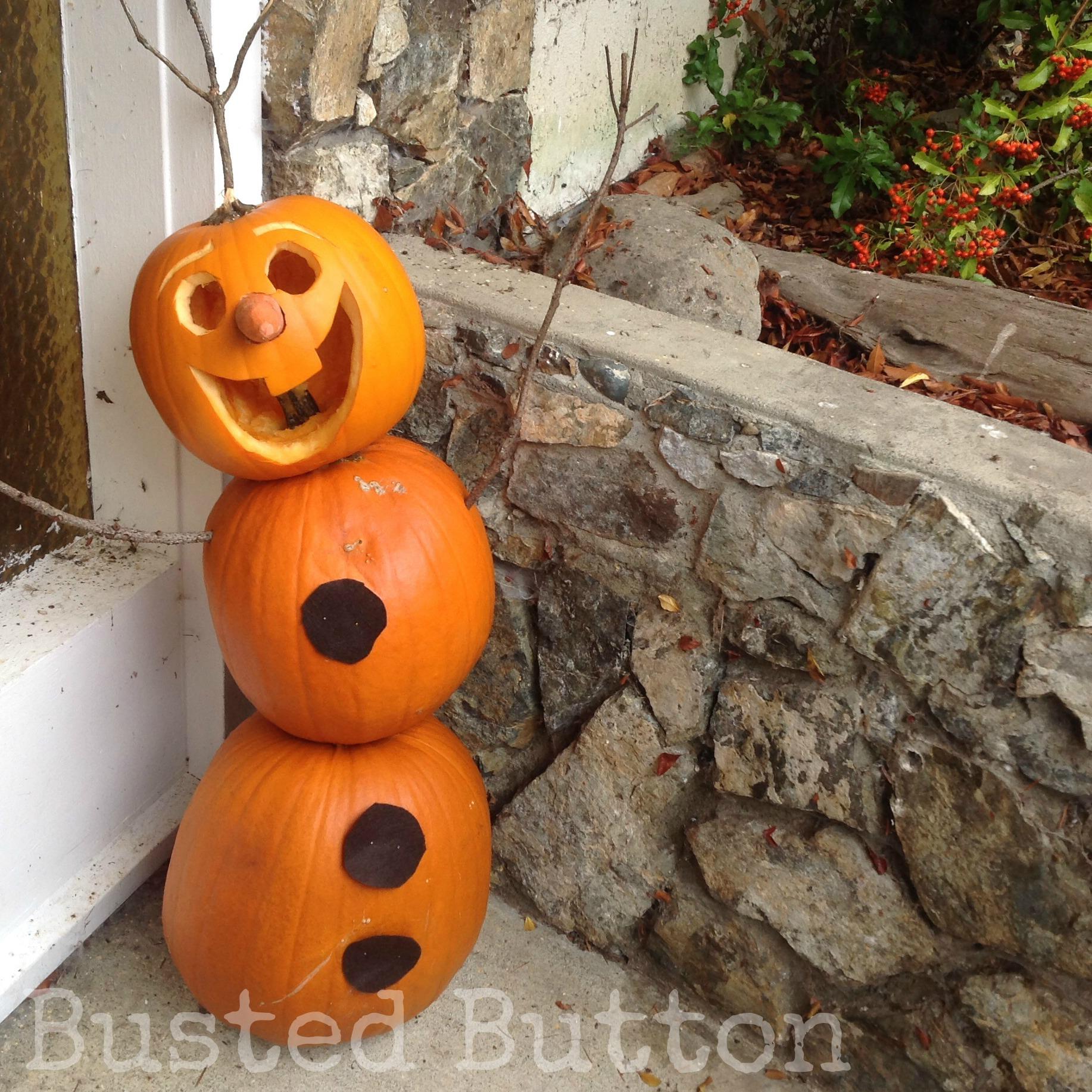 Do You Want to Build a Jack-O-Lantern? Olaf Pumpkin Tutorial ...