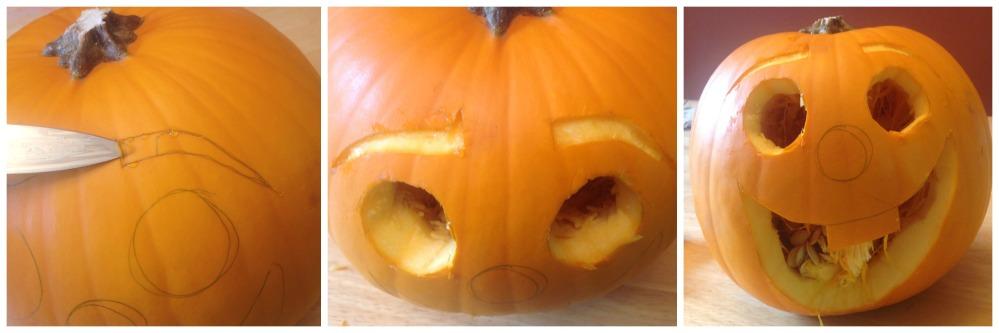 Do You Want to Build a Jack-O-Lantern? Olaf Pumpkin Tutorial (6/6)