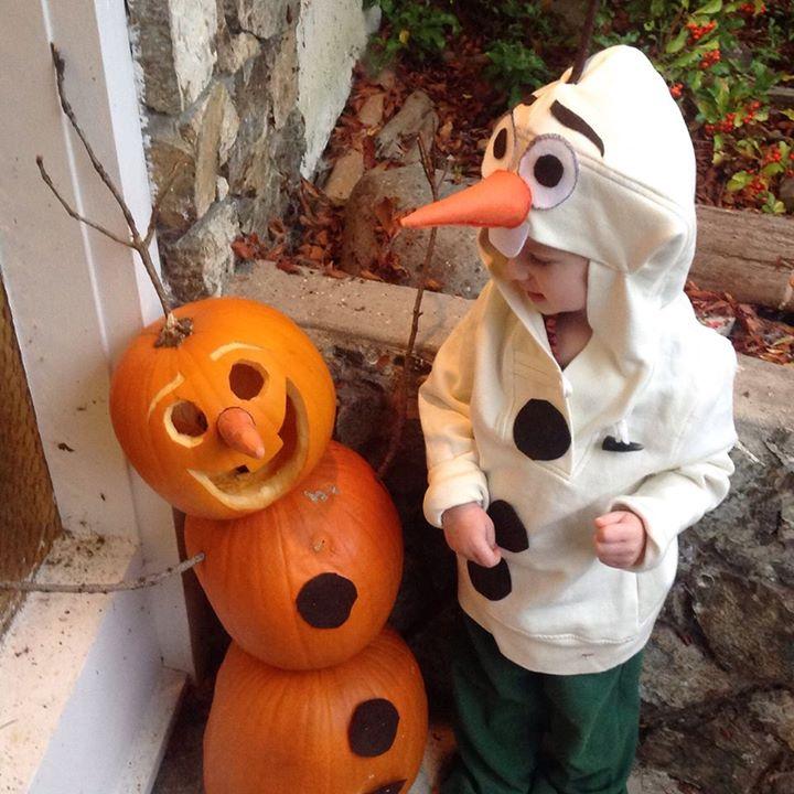 Do You Want to Build a Jack-O-Lantern? Olaf Pumpkin Tutorial (3/6)